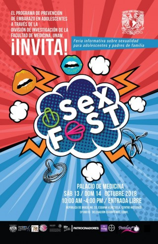 Sexfest UNAM y Marie Stopes