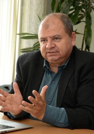 Demetrio Fabián García Nocetti, académico del Instituto de Investigaciones en Matemáticas Aplicadas y Sistemas de la UNAM.