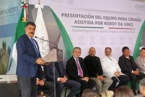 En el acto también estuvieron presentes el Subdirector de Infraestructura, Juan Carlos Larrieu Creel; el encargado de la Delegación Regional Oriente, Jorge Malo Lugo, y el Director de Comunicación Social, Pascual Cervantes Ojeda.