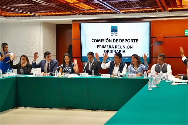 Primera Reunión Ordinaria de la Comisión De Deporte de la Cámara de Diputados