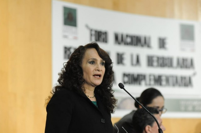 vicepresidenta de la Mesa Directiva de la Cámara de Diputados, Dolores Padierna Luna