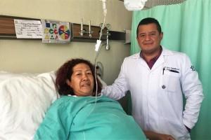 Médicos del Instituto Mexicano del Seguro Social (IMSS) en el estado de Durango retiraron con éxito un tumor de 17 kilogramos alojado en el abdomen de una mujer de 50 años, que había invadido el bazo y un riñón, lo que comprometía el funcionamiento de ambos órganos.