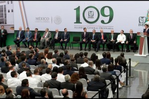 Ceremonia de 109 Asamblea General Ordinaria del IMSS en Querétaro
