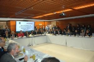 Mesa De Diálogo Con El Tema De Presupuesto En Materia De Salud En El PEF 2019.