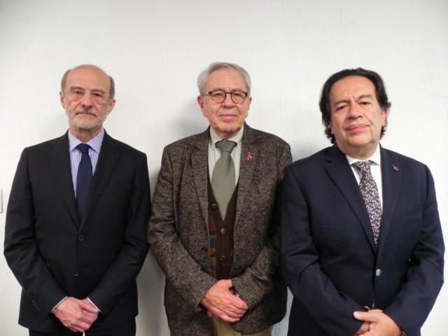Dr. Guillermo Miguel Ruiz Palacios y Santos,Dr.Jorge Alcocer Varela, y Dr.Alejandro Mohar Betancour