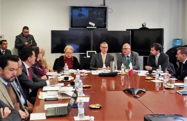 Instalan mesa de análisis para discutir participación de México en Fondos Rotatorio y Estratégico de la OPS/OMS.Habría garantías de seguridad y calidad para las adquisiciones, así como de abasto.
