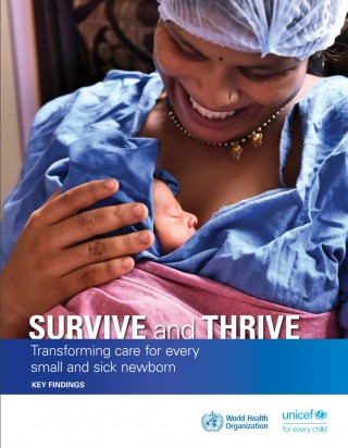 Survive and thrive: transforming care for every small and sick newborn. Key findings