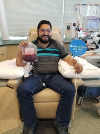 Ramón, el primer donador de células madre de Be The Match México