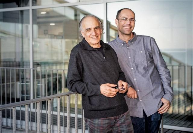 Jaume Bertranpetit, investigador en el Instituto de Biología Evolutiva, y Oscar Lao, investigador en el Centro de Regulación Genómica, co-lideraron el estudio.