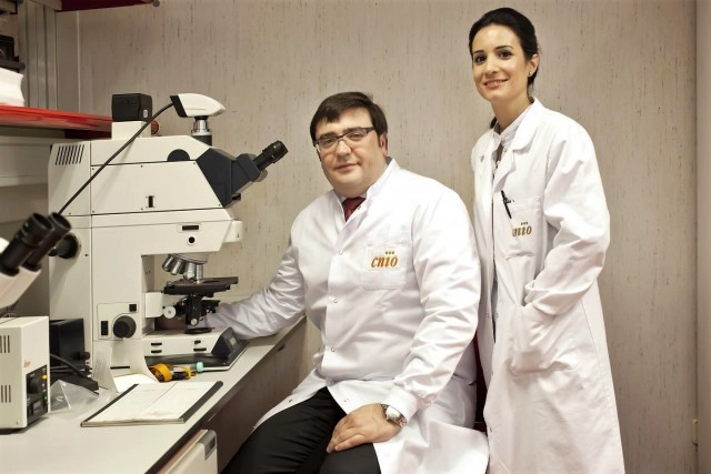 David Olmos y Elena Castro