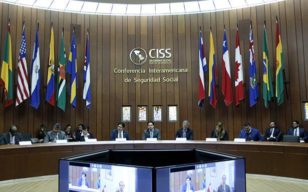 Ante delegados de Argentina, Honduras, Ecuador, Cuba y Chile, entre otras naciones, presentó el Programa de Trabajo 2019; entre los principales ejes está la investigación y la cooperación para la consecución del bienestar de la gente.