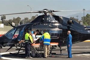 Plantea Miroslava Sánchez que aviones y helicópteros de la flota presidencial se usen como ambulancias aéreas.