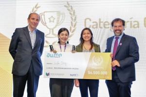 Este proyecto fue premiado en la categoría oro más reciente edición de Jump Chile 2018, evento que tiene como objetivo impulsar a los estudiantes de educación superior a transformar sus ideas en modelos de negocios para formar una nueva generación de emprendedores y agentes de cambio con impacto global.