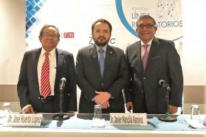 Dr-José Huerta, Dr. Javier Mancilla y Dr. Gerardo López