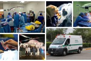 Se fortalecerá el programa de trasplantes con personal y equipamiento, la difusión de los beneficios de la donación y el envío oportuno de órganos y tejidos a pacientes que esperan una oportunidad de vida.