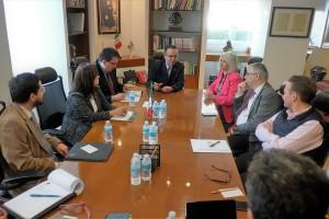 El Director General del Seguro Social, Germán Martínez Cázares, dio posesión del cargo a los funcionarios