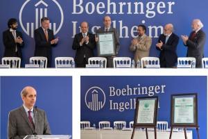 Con este distintivo, Boehringer Ingelheim de México reafirma su compromiso con el bienestar de miles de pacientes y profesionales de la salud mediante medicamentos innovadores y servicios de la más alta calidad.