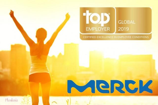 Merck también recibió las certificaciones Top Employer Europe 2019 y Top Employer Germany 2019.