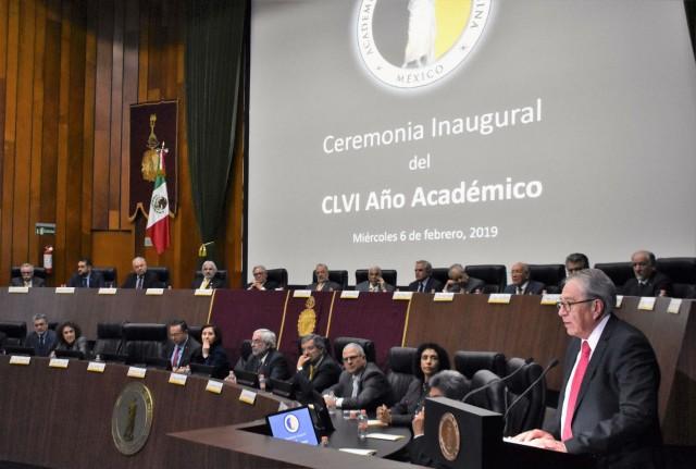 El Secretario de Salud inauguró el CLVI Año Académico de la Academia Nacional de Medicina.