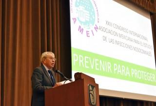 El Secretario de Salud inauguró el XXIII Congreso Internacional de la Asociación Mexicana para el Estudio de la Infecciones Nosocomiales