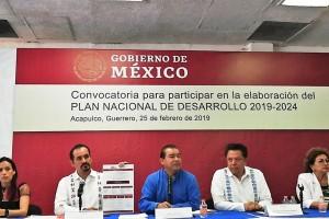 El objetivo es integrar las demandas de la población al PND 2019-2024.