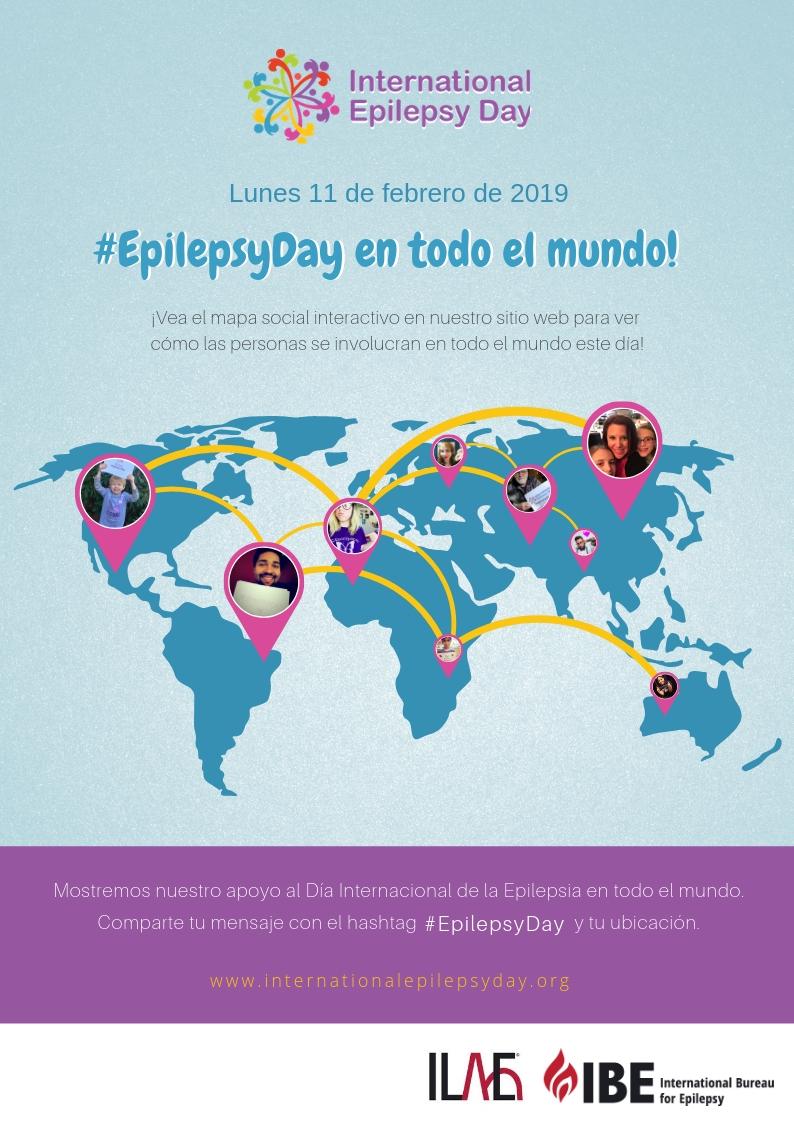 Este 11 de febrero de 2019 se conmemora el Día Internacional de la Epilepsia.