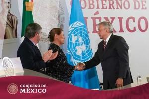 La mayor riqueza de México está en la honestidad de su pueblo, Presidente de México; hizo referencia a compra de medicinas ycorrupción