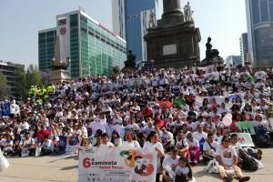 Celebran el Día Mundial del Riñón con una Caminata cientos de pacientes, familiares, donadores y profesionales de la salud