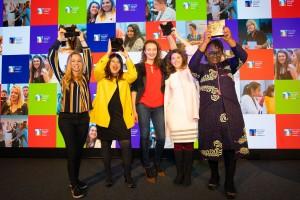 Ganadoras de la segunda edición de los Technology Playmaker Awards 2019