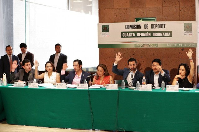 Aprueban dictamen para reconocer al Registro Nacional de Infraestructura Deportiva (Renaid)