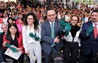 La Secretaria del Trabajo, Luisa María Alcalde, anunció que concluyó la consulta tripartita para que el Gobierno de México impulse la ratificación del Convenio 189 de la OIT.