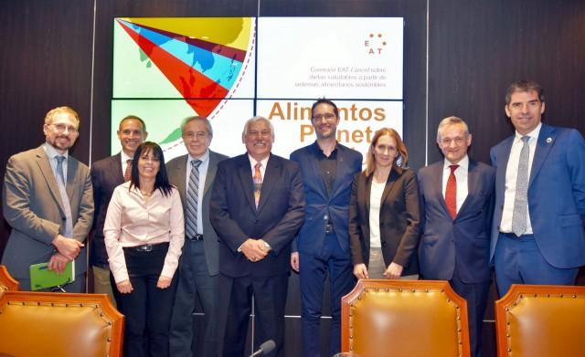 Alcocer Varela presidió la Presentación del Informe de la Comisión EAT-Lancet, sobre alimentos, planeta y salud.