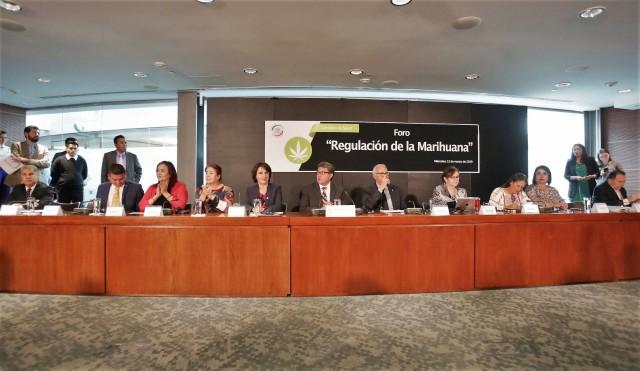 Hay voluntad política para concretar una legislación que regule su consumo. Se trata de arrebatarle al narcotráfico el control de este proceso distributivo, subrayó Ricardo Monreal Ávila,presidentede laJunta de Coordinación Política.
