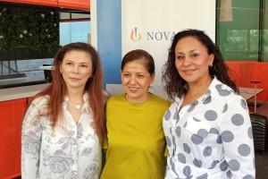 Dra. Hilda Patricia Cervera Silva y Dra. Leticia Munive Báez Y la Dra. Miriam Edith Jiménez González