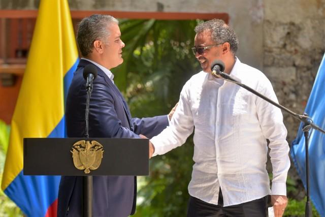 El Gobierno de Colombia y la Organización Mundial de la Salud (OMS) evaluaron los avances y retos del país en materia de salud, con énfasis en la reducción de enfermedades como el cáncer y el VIH Sida, las políticas para prevenir el consumo de estupefacientes y la obesidad, y las acciones de atención en salud que se brinda a los ciudadanos migrantes de Venezuela.