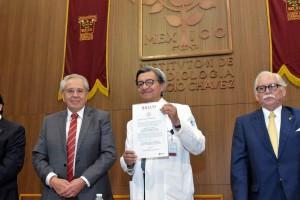 La Junta de Gobierno de este Instituto designó al doctor Jorge Gaspar Hernández como director general para el periodo 2019-2024