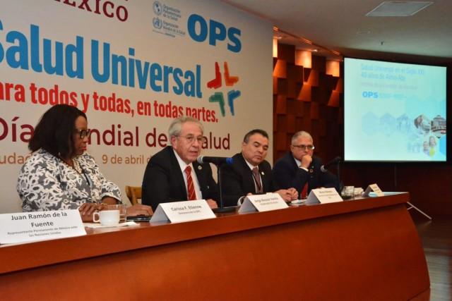 Ministras y Ministros sanitarios de la Región de las Américas intercambian experiencias sobre la atención primaria de la salud.