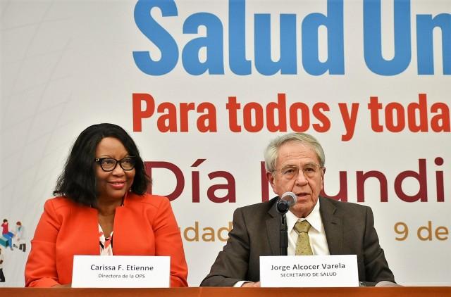 El Secretario de Salud, encabezó la clausura del encuentro de Ministras y Ministros sanitarios de la Región de las Américas.