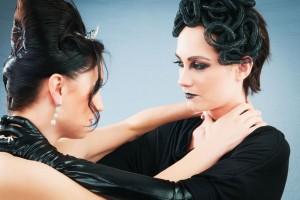Violencia entre las mujeres.