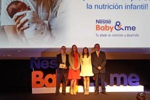 Premier Nestlé presenta Baby and Me