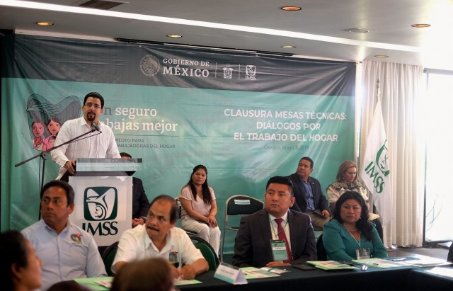 En Oaxaca, el Director de Vinculación Institucional clausuró las Mesas Técnicas: Diálogos por el Trabajo del Hogar.