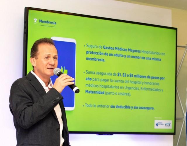 Jean-Louis Brunet, socio fundador, presidente y director general de MUTUUS Salud Inteligente