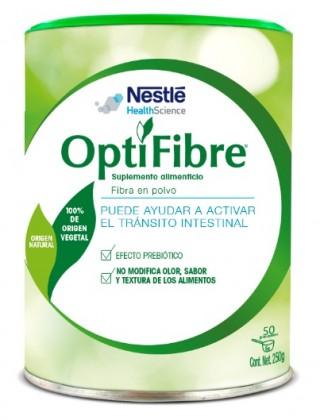 OptiFibre tiene un sabor neutro que permite combinarlo con diferentes bebidas y alimentos