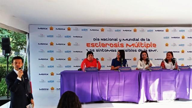 Este 29 de mayo se conmemorará por primera vez el Día Nacional de la Esclerosis Múltiple en México.