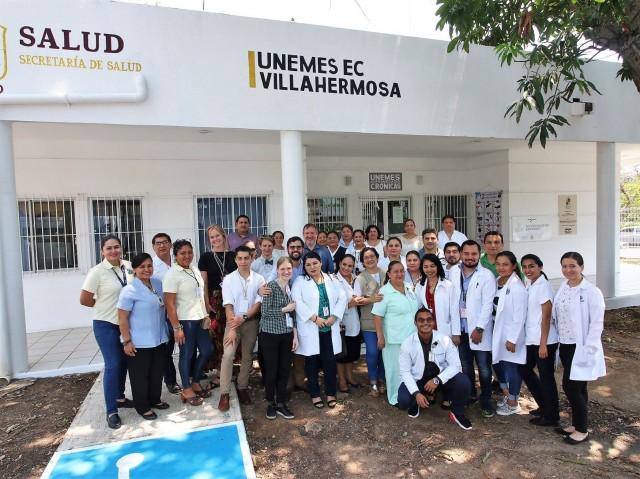 Unidad de Especialidades Médicas (Uneme), en Enfermedades Crónicas, ubicada en la Colonia Tierra Colorada.