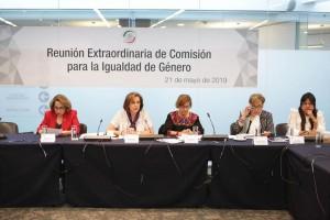 Reunión de la Comisión para la igualdad de genero