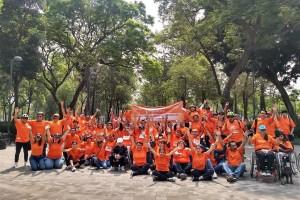Pacientes con Esclerosis Múltiple pedalean por acceso a tratamiento