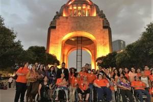 La iluminación en México se sumó a la iniciativa Latinoamericana #IluminEMosLatinoamerica, que busca darle visibilidad a este padecimiento que afecta a más de 2.5 millones de personas en el mundo.