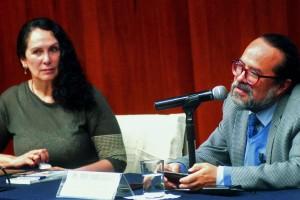 Paulina Rivero y Jorge Linares.