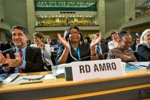 Autoridades de Salud de la región de las Américas participan en la 72ª Asamblea Mundial de la Salud, que se celebra entre el 20 y 28 de mayo en Ginebra, Suiza, y que reunirá a más de 4 mil delegados de los 194 países que componen la Organización Mundial de la Salud (OMS) para abordar los principales temas de salud en el mundo.